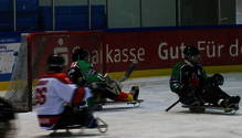 Eis-Sledge-Hockey